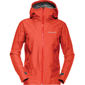 Norrøna Falketind Gore-Tex Jacket Women red